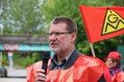 Armin Baumgarten, Betriebsratsvorsitzender Siemens